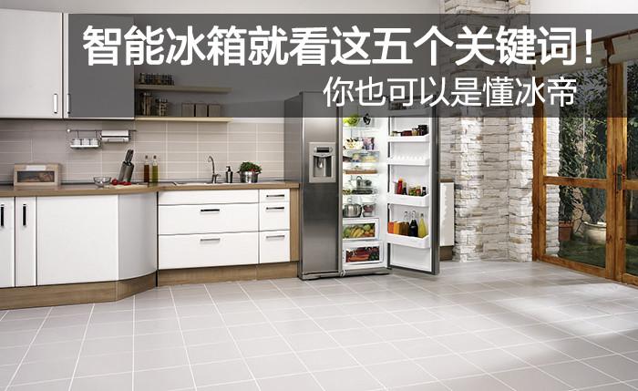 智能冰箱就看这五个关键词!你也可以是懂冰帝