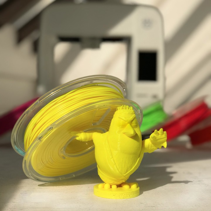 "MyMiniFactory平台免费发布3D打印""愤怒的小鸟""模型"