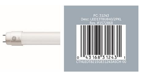 存触电隐患 GE照明宣布召回92000支LED灯管