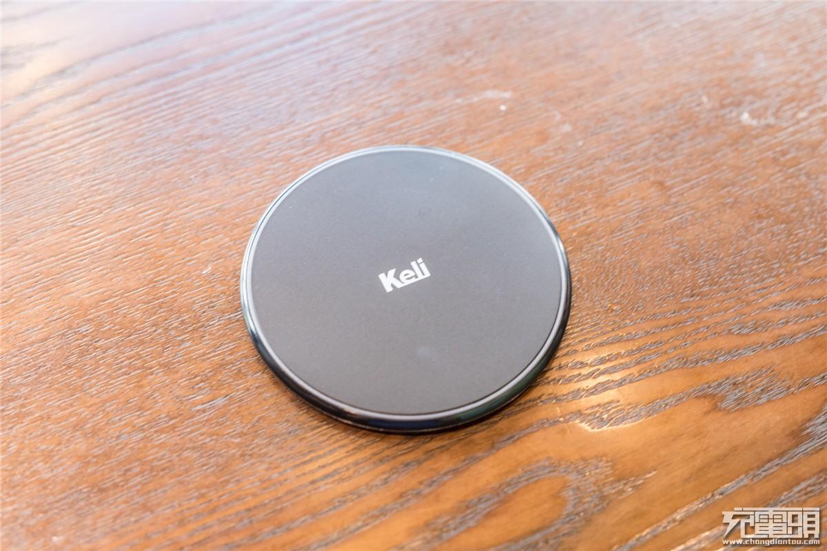 超薄小巧,Keli科利推出10W无线充新品