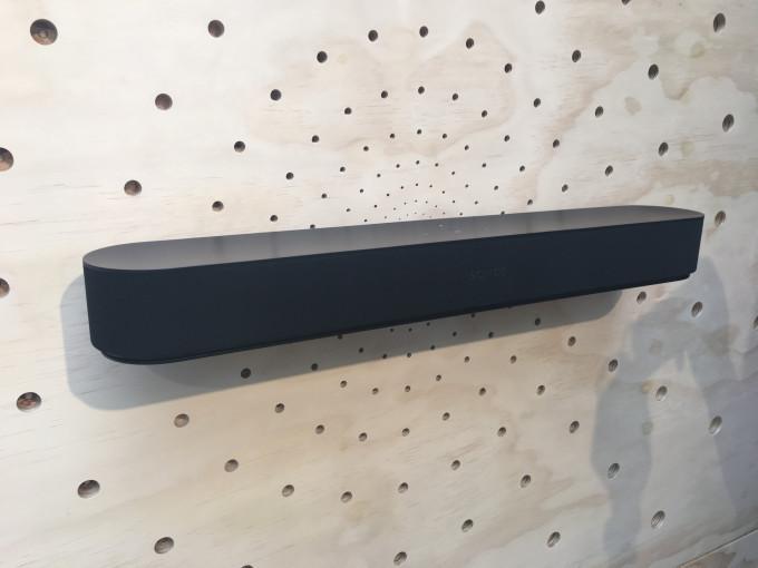 Sonos推出Beam智能音响,可实现智能语音交互