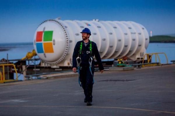 微软在苏格兰海岸部署水下数据中心
