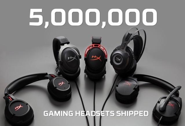 销量突破五百万 HyperX游戏耳机创辉煌