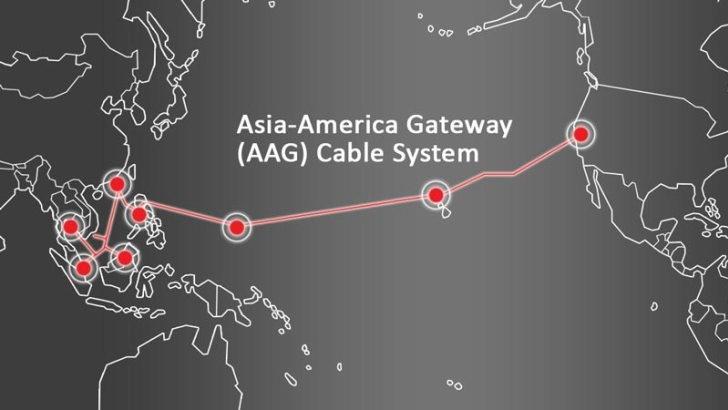 AAG海底光缆系统越南段完成修复