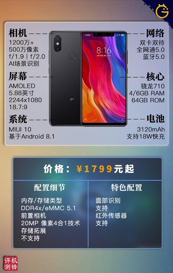 小米8 SE评测:骁龙710领衔新时代轻旗舰