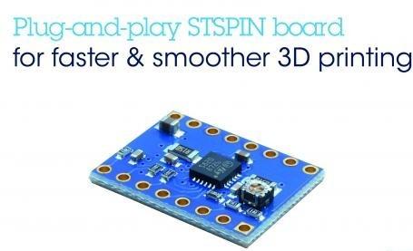 高速、高分辨率电机驱动板使开源3D打印机性能最大化
