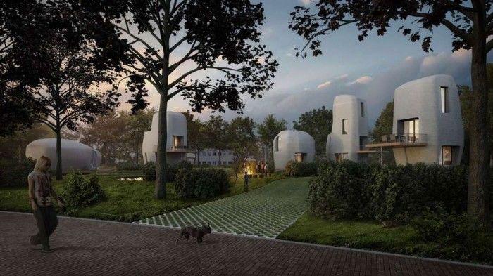 3D打印的房子能住人吗?荷兰率先尝试