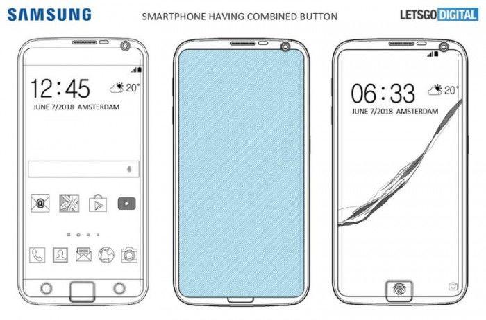 三星Galaxy S10或将部分指纹传感器嵌入屏幕