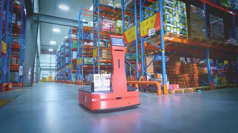 迎接京东618挑战:AICRobo仓储拣运机器人助力智慧仓储轻松实现