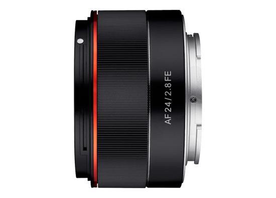 三阳正式发布新款AF 24mm F2.8 FE镜头