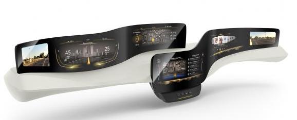 大陆推新型触感仪表盘 可减少驾驶员分心