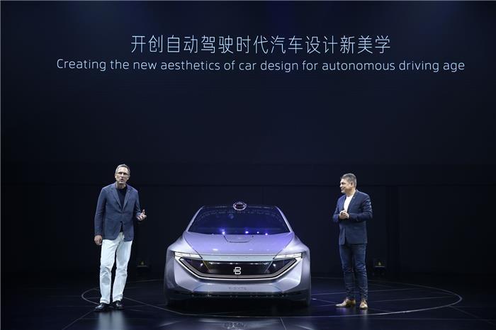 拜腾首款概念轿车首发:融合激光雷达自动驾驶新元素