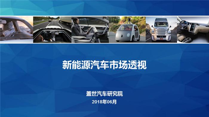 2018年中国新能源汽车市场透视