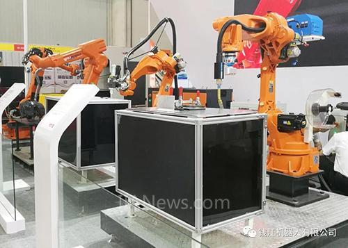 """钱江机器人""""实力亮相""""武汉工博会"""