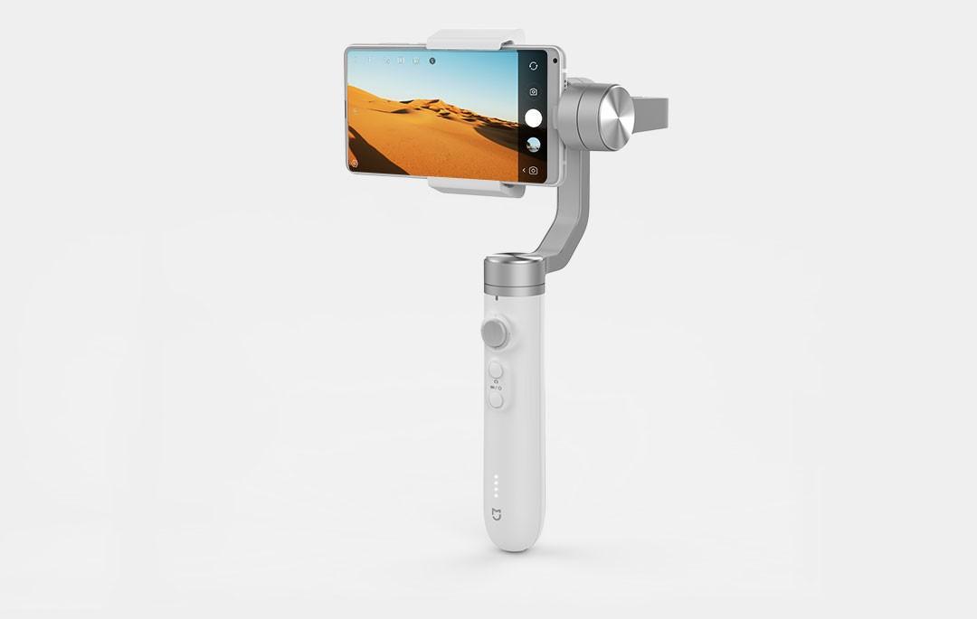 米家推出了一款针对手机的手持云台