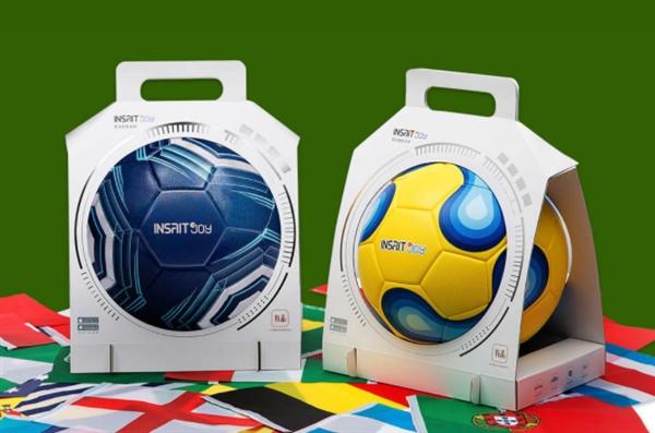 专属你的世界杯!小米众筹上架智能足球:达FIFA用球标准