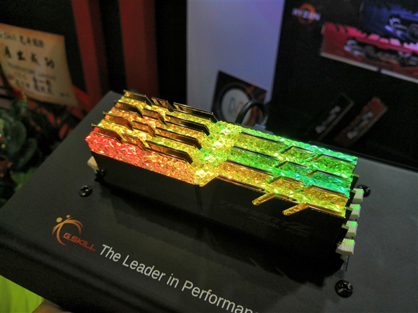 "RGB新境界:芝奇创意""水晶内存""光彩夺目"