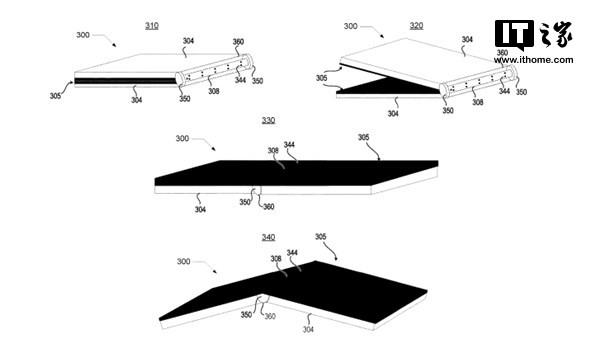 新专利揭示:折叠屏的世界里半路杀出个Moto