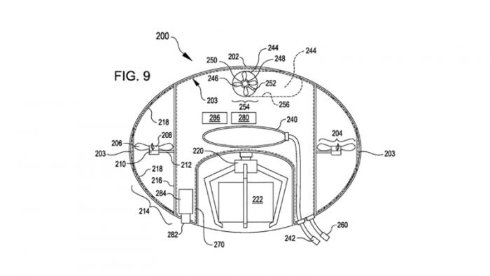 亚马逊无人机专利曝光 带有安全气囊和悬停功能