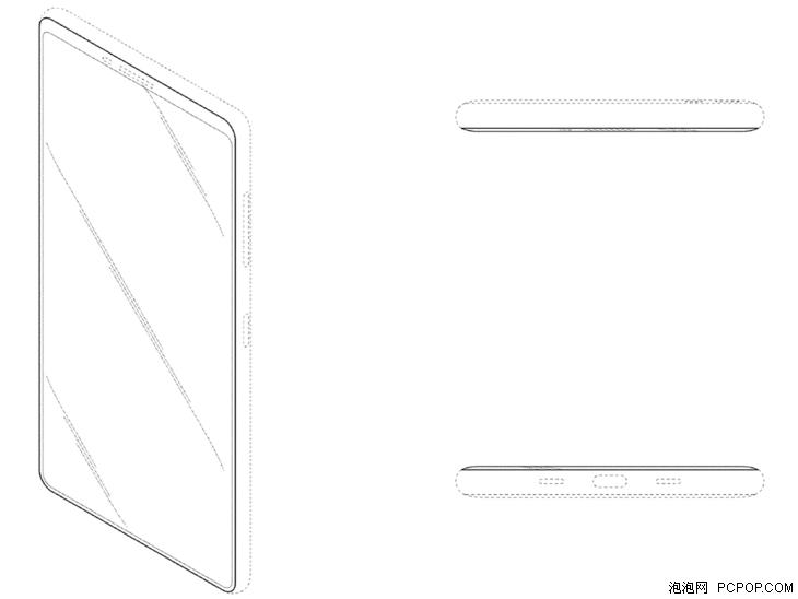 提高屏占比 三星新专利:没有前置摄像头?