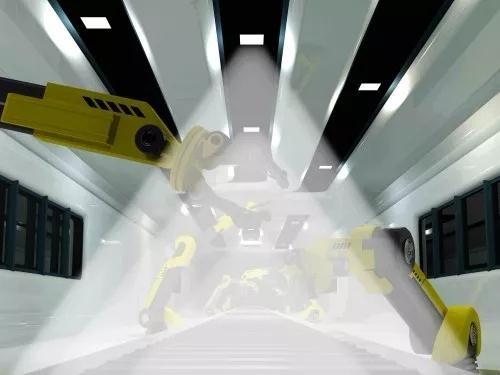 宝马工厂车间进行Li-Fi测试:使用红外LED代替可见光