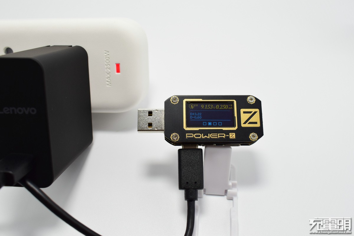 联想LS-45WTCPD USB-C电源适配器拆解