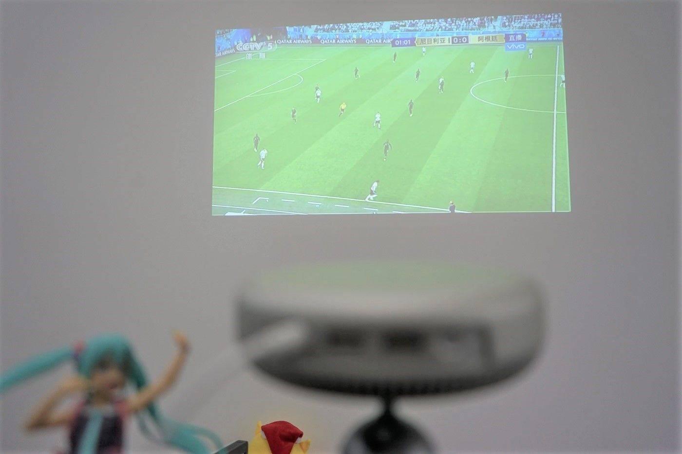 """用""""苹果味""""的投影仪看世界杯"""
