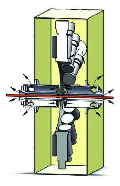 抗干扰能力强的棒材测径仪