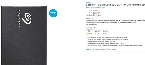 75美元起 希捷发布酷鱼SSD新品:最大2TB、5年保固