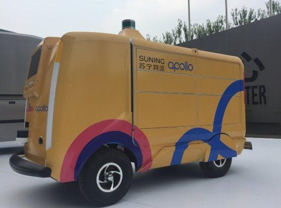 苏宁百度强强联手,无人驾驶技术为物流行业插上科技之翼
