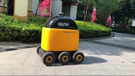 携手百度推进自动驾驶技术落地 苏宁再现科技硬实力