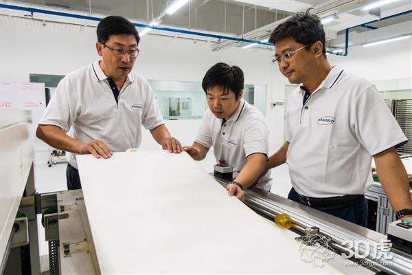 Nano Sun推出新加坡首家生产水过滤膜的3D打印工厂