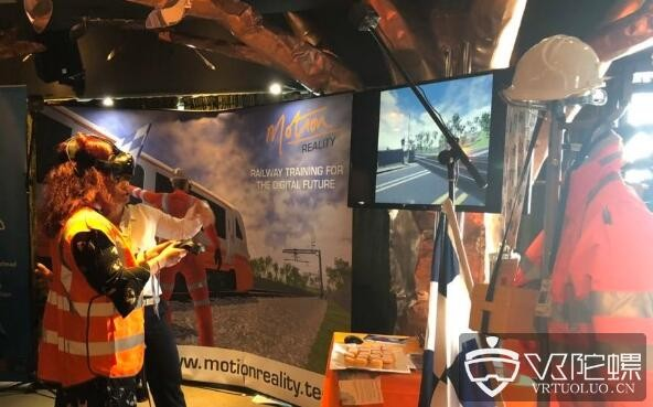VR公司Motion Rail推出铁路安全VR培训计划
