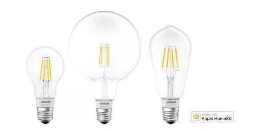LEDVANCE在欧洲推出了兼容Apple HomeKit的灯丝灯