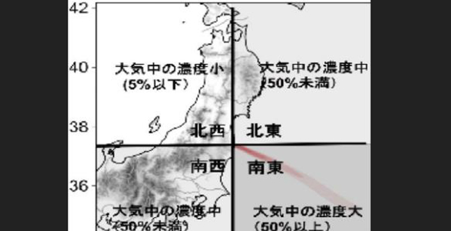 防护低辐射风险 日本通过AI预测扩散方向