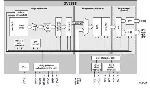 经过模数转换器件,电荷信号转换成数字信号,数字信号经过放大电路进入