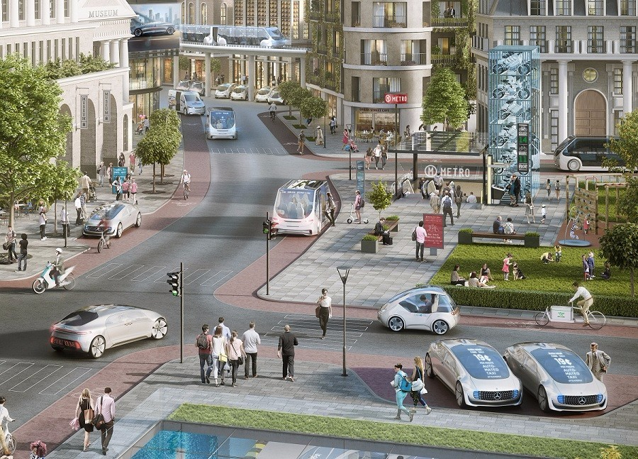 博世与戴姆勒在加利福尼亚打造自动驾驶试点城市