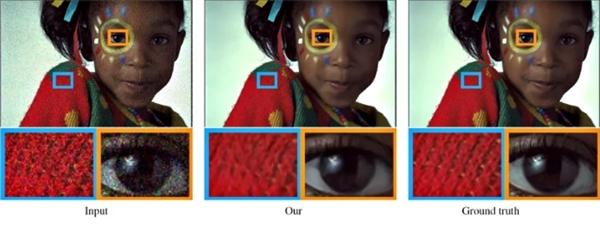 NVIDIA推新人工智能 可自动去除照片杂讯及水印