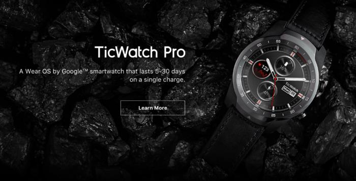智能双屏超长发挥:TicWatch Pro海外正式发售