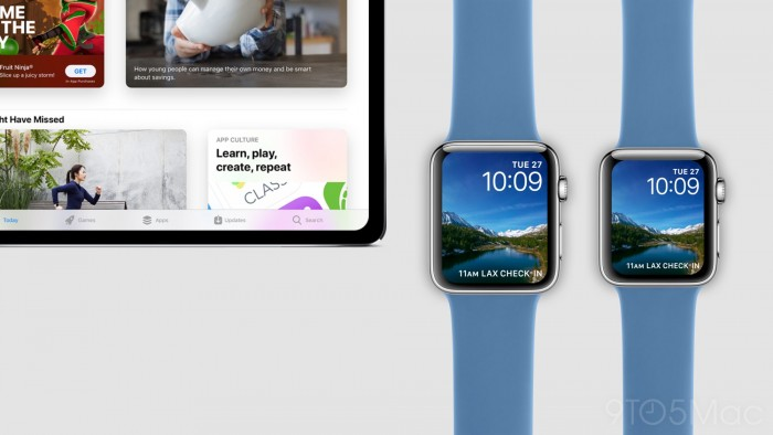 Apple Watch S4出来了 手表也玩无边框?