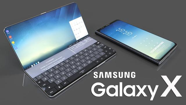三星Galaxy X四种折叠方案曝光