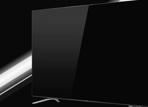 电视,采用主流4k分辨率,全金属机身设计,子夜黑边框衬托出金属质感
