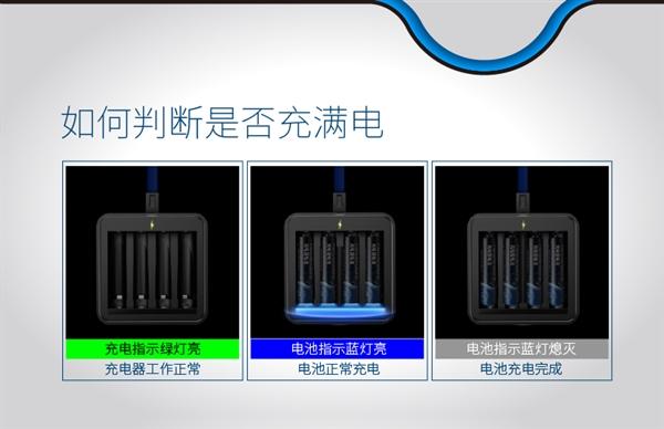 超越镍氢电池 南孚造出5号充电锂电池套装