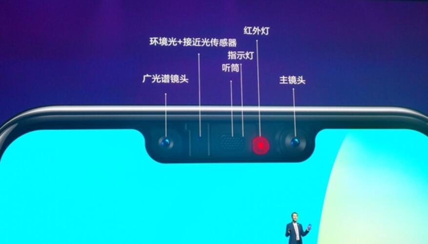 华为nova 3前置镜头:全天候人脸解锁和3D人脸支付
