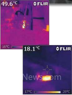 FLIR红外热像仪协助某激光室预防事故发生