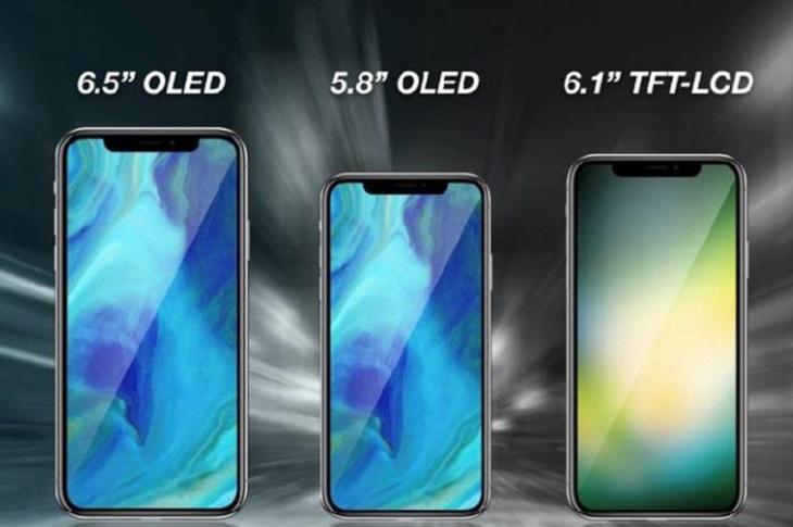 今秋三款iPhone X齐发 刘海全面屏 售价5888起