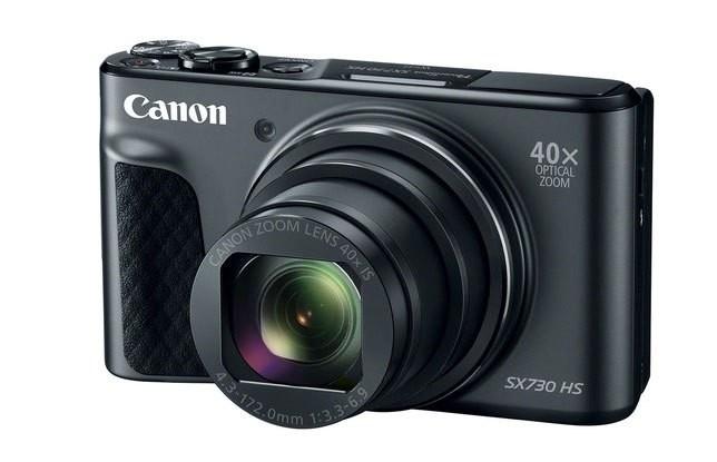 40倍光学变焦 佳能SX740 HS相机曝光