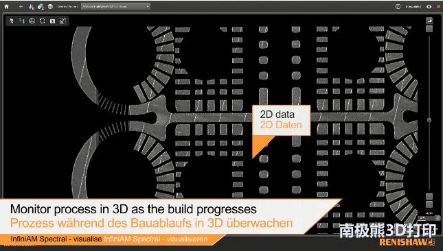 雷尼绍推出激光粉末床熔融3D打印系统工艺监控软件