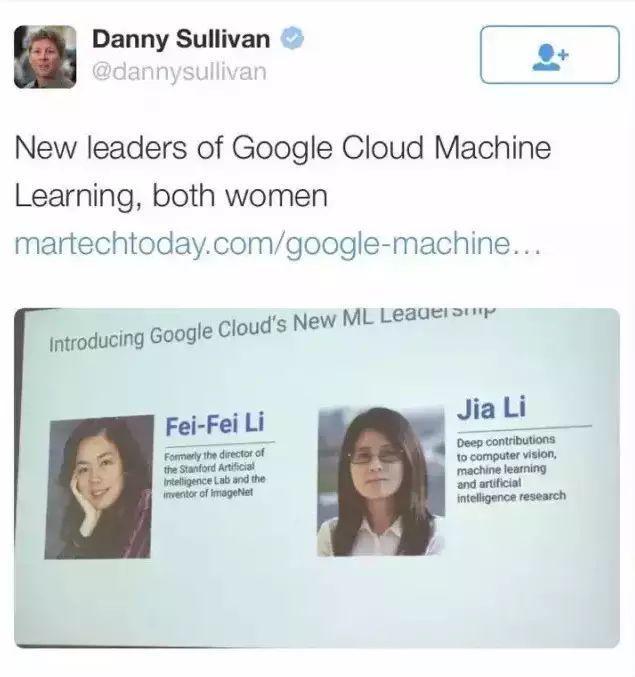 李飞飞出手,谷歌的新世界再落一子