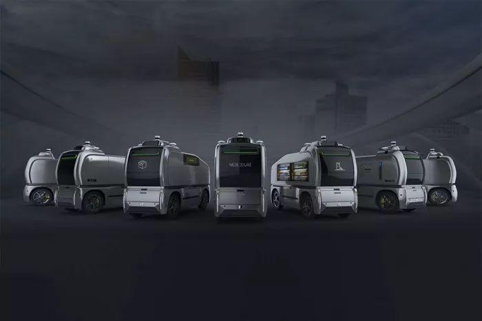 """车和家SEV是如何变身""""""""新石器无人物流车的?"""
